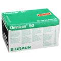 OMNICAN Insulinspr.0,5 ml U100 m.Kan.0,30x12 mm 100 Stück