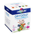 ORTOPAD cotton boys medium Augenokklusionspflaster 50 Stück