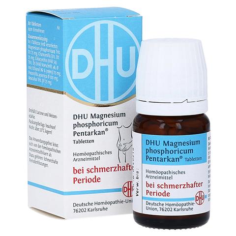 DHU Magnesium phos.Pentarkan Periodenschmerz Tabl. 80 Stück N1