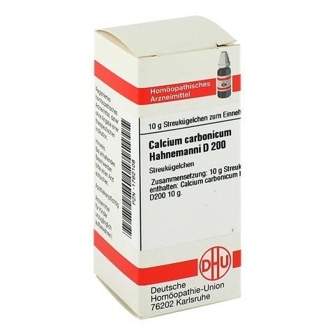CALCIUM CARBONICUM Hahnemanni D 200 Globuli 10 Gramm N1