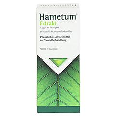 Hametum Extrakt 50 Milliliter N2 - Vorderseite