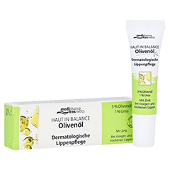 medipharma Haut in Balance Olivenöl Dermatologische Lippenpflege 7 Milliliter