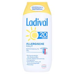 LADIVAL allergische Haut Gel LSF 20 200 Milliliter