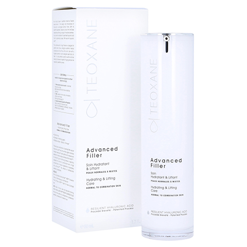 TEOXANE Advanced Filler Anti-Aging-Creme normale bis Mischhaut 50 Milliliter