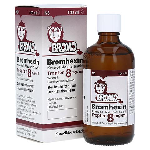 Bromhexin Krewel Meuselbach 8mg/ml 100 Milliliter N3