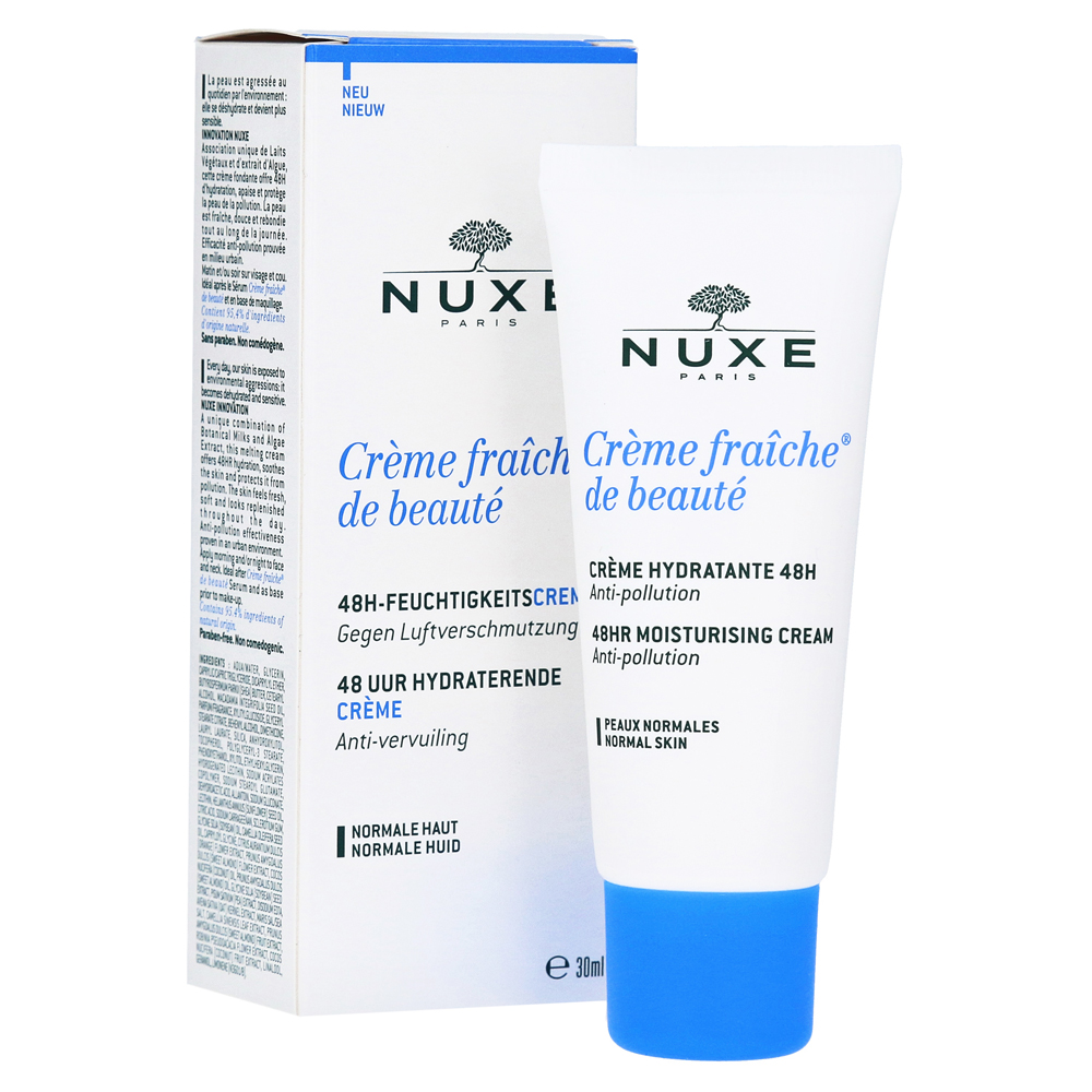nuxe creme fraiche de beaute nf 30 milliliter online bestellen medpex versandapotheke. Black Bedroom Furniture Sets. Home Design Ideas
