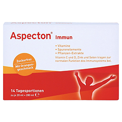 ASPECTON Immun Trinkampullen 14 Stück - Vorderseite