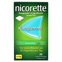 Nicorette 4mg freshmint 30 Stück - Vorderseite