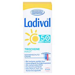 LADIVAL trockene Haut Creme LSF 50+ 50 Milliliter - Vorderseite