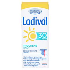 LADIVAL trockene Haut Creme LSF 30 50 Milliliter - Vorderseite