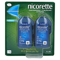 nicorette freshmint 2 mg Lutschtabletten gepresst 80 Stück