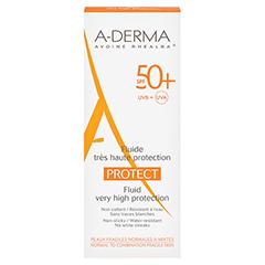 A-DERMA PROTECT Fluid LSF 50+ 40 Milliliter - Vorderseite