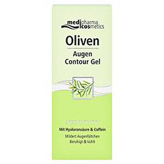 medipharma Olivenöl Augen Contour Gel 15 Milliliter - Vorderseite