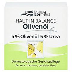 medipharma Haut in Balance Olivenöl Dermatologische Gesichtspflege 50 Milliliter - Vorderseite