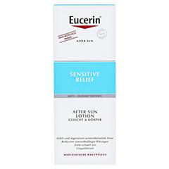 EUCERIN Sun After Sun Lotion + gratis Eucerin Sun Oil Control Body LSF50+ 150 Milliliter - Vorderseite