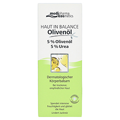 HAUT IN BALANCE Olivenöl Körperbalsam 5% 200 Milliliter - Vorderseite