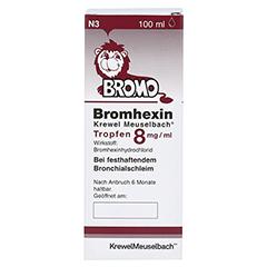 Bromhexin Krewel Meuselbach 8mg/ml 100 Milliliter N3 - Vorderseite