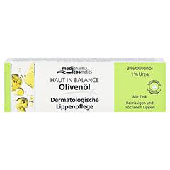 medipharma Haut in Balance Olivenöl Dermatologische Lippenpflege 7 Milliliter - Vorderseite