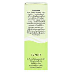 medipharma Olivenöl Augen Contour Gel 15 Milliliter - Linke Seite
