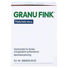 GRANU FINK Prosta forte 500mg 140 Stück - Linke Seite
