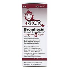 Bromhexin Krewel Meuselbach 8mg/ml 100 Milliliter N3 - Linke Seite