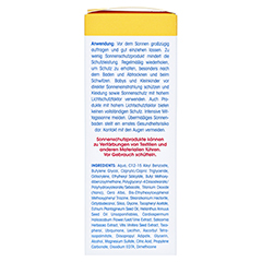 LADIVAL trockene Haut Creme LSF 50+ 50 Milliliter - Linke Seite