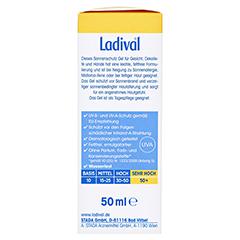 Ladival Allergische Haut Gel LSF 50+ 50 Milliliter - Rechte Seite