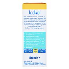 LADIVAL trockene Haut Creme LSF 30 50 Milliliter - Rechte Seite