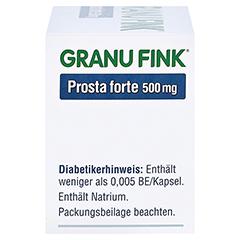 GRANU FINK Prosta forte 500mg 40 Stück - Rechte Seite