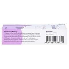 FEMIBION BabyPlanung 0 Tabletten + gratis Merck Schwangerschaftstest 28 Stück - Rechte Seite