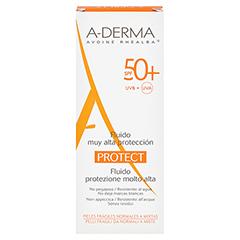 A-DERMA PROTECT Fluid LSF 50+ 40 Milliliter - Rückseite