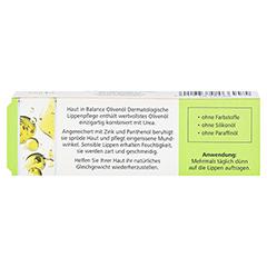 medipharma Haut in Balance Olivenöl Dermatologische Lippenpflege 7 Milliliter - Rückseite