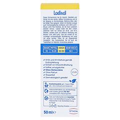 Ladival Allergische Haut Gel LSF 30 50 Milliliter - Rückseite