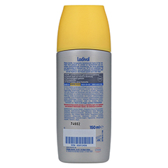 Ladival Sonnenschutz Spray LSF 20 150 Milliliter - Rückseite