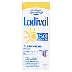 Ladival Allergische Haut Gel LSF 50+ 50 Milliliter - Rückseite