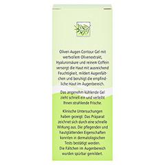medipharma Olivenöl Augen Contour Gel 15 Milliliter - Rückseite