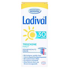 LADIVAL trockene Haut Creme LSF 30 50 Milliliter - Rückseite