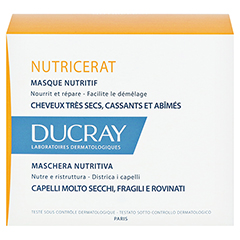 DUCRAY NUTRICERAT Ultra nutritiv Haarmaske 150 Milliliter - Rückseite