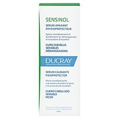 DUCRAY SENSINOL Serum 30 Milliliter - Rückseite