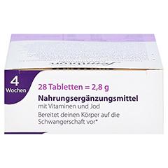 FEMIBION BabyPlanung 0 Tabletten + gratis Merck Schwangerschaftstest 28 Stück - Oberseite