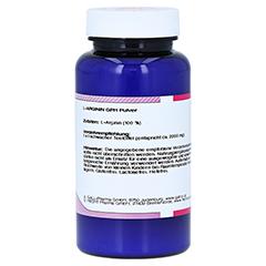 L-Arginin Pulver 100 Gramm - Linke Seite