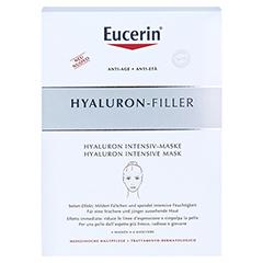 EUCERIN Anti-Age HYALURON-FILLER Intensiv-Maske 4 Stück - Vorderseite
