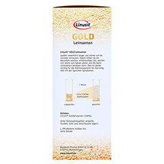 LINUSIT Gold Leinsamen 1000 Gramm - Linke Seite