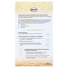 LINUSIT Gold Leinsamen 1000 Gramm - Rückseite