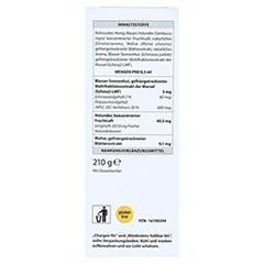 IMMUNOMIX Plus Sirup 210 Gramm - Rückseite