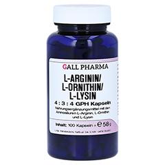 L-ARGININ/L-ORNITHIN/L-Lysin 4:3:4 GPH Kapseln 100 Stück