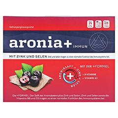 aronia+ immun Trinkampullen 14x25 Milliliter - Vorderseite