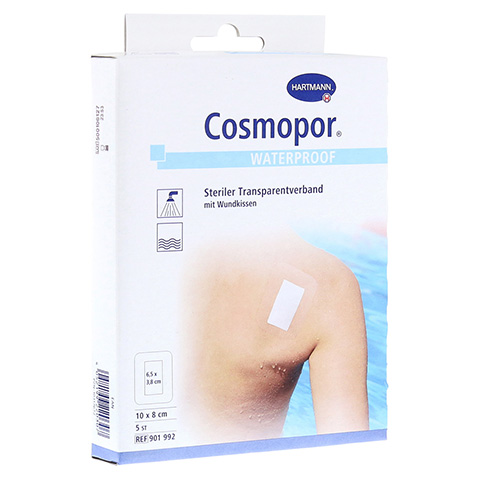COSMOPOR waterproof 8x10 cm 5 Stück