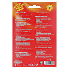 Wärmepflaster 9,5x13 cm hypoallergen 1 Stück - Rückseite