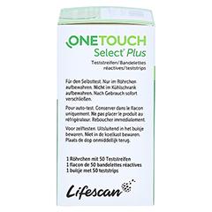 OneTouch Select Plus Teststreifen 50 Stück - Linke Seite